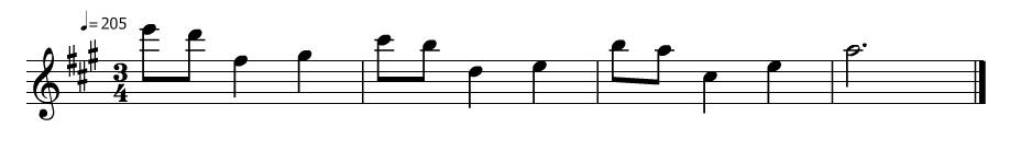 13 notes Nokia Tunes