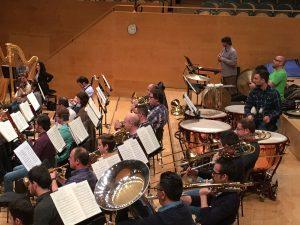 Secció de vent metall i percussió de l'orquestra