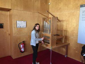 Tocant un orgue